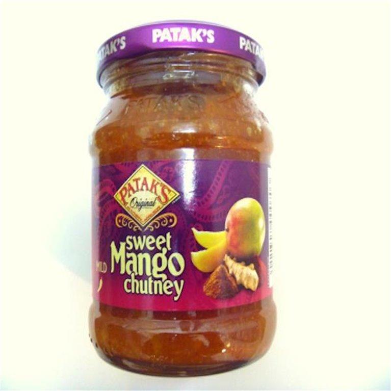 Mango Chutney Patak's Hot, 1 ud
