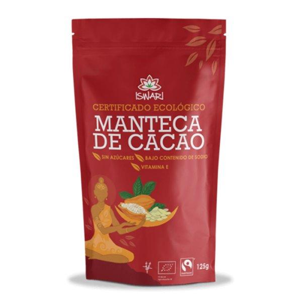 Manteca de Cacao Bio 125g