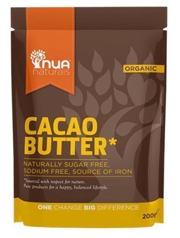 Manteca de cacao, 200 gr