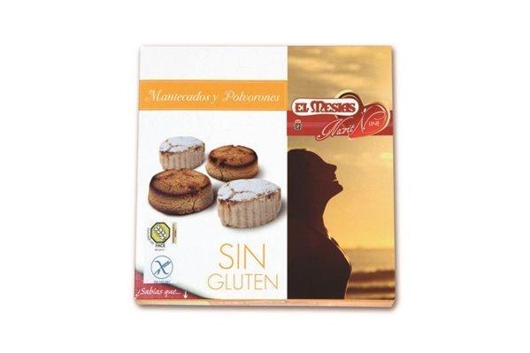 Mantecados y polvorones sin gluten (350 gr)