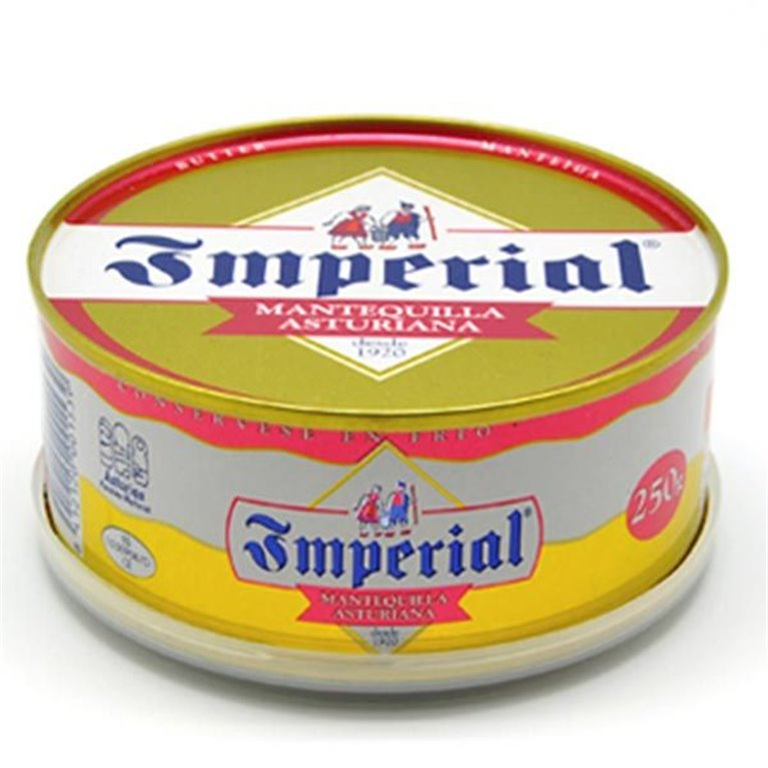 Mantequilla Asturiana Imperial Sin Sal