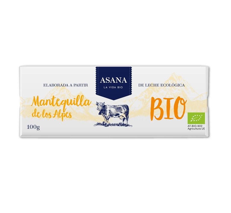 Organic Butter from the Alps - Asana