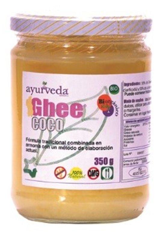 Mantequilla Clarificada Ghee con Aceite de Coco Bio 350g, 1 ud