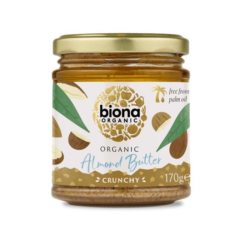 Mantequilla crujiente de almendra BIO - Biona