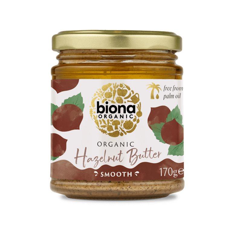 Mantequilla de avellanas BIO - Biona