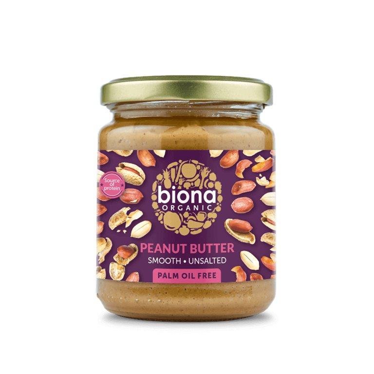 Mantequilla suave de cacahuetes BIO - Biona
