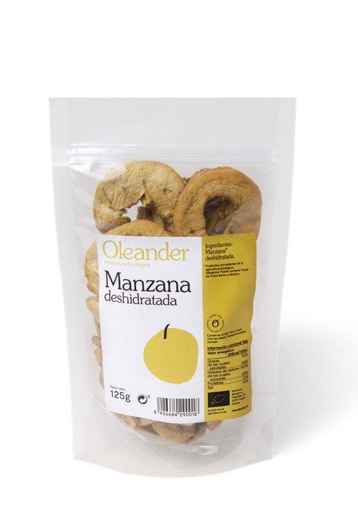 Manzana deshidratada, 130 gr