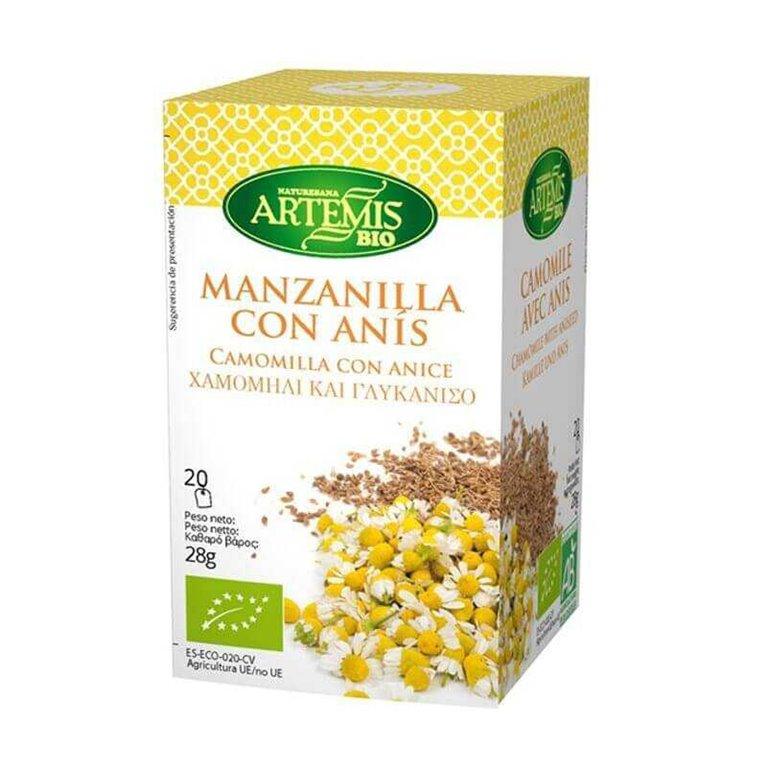 Manzanilla con Anís BIO 20 bl - Artemis
