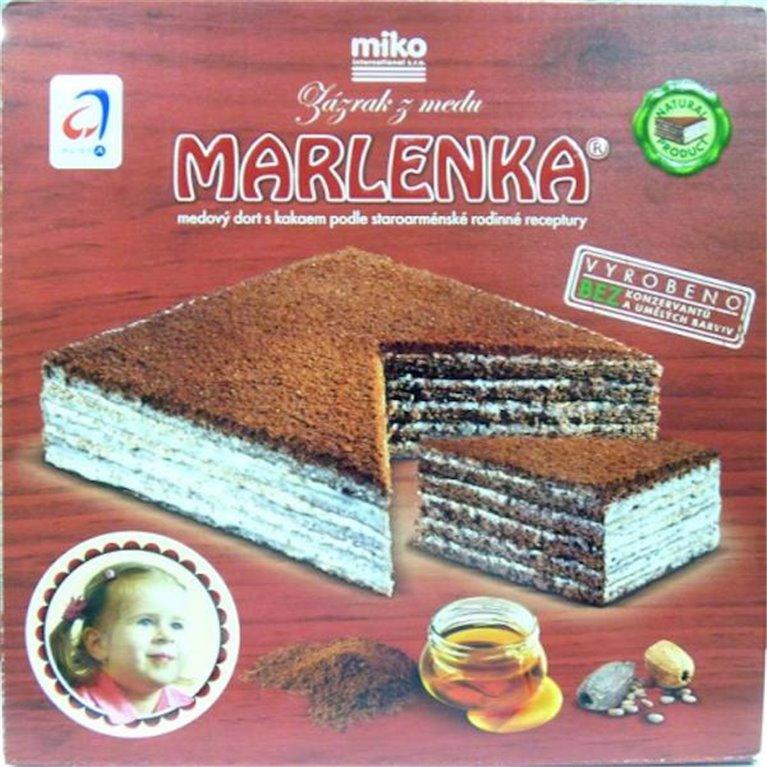 Marlenka con cacao, 1 ud