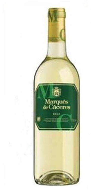 MARQUES DE CACERES - Blanco - Cosecha 2017, 0,75 l