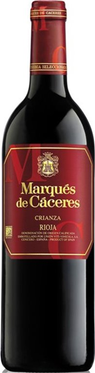 Marqués de Cáceres Crianza 2015, 1 ud