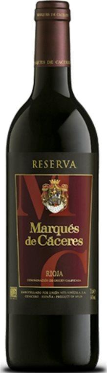 Marqués de Cáceres Reserva 2012, 1 ud