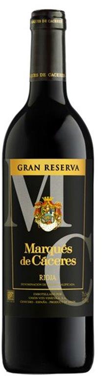 MARQUES DE CACERES - Tinto - Gran Reserva 2010, 0,75 l