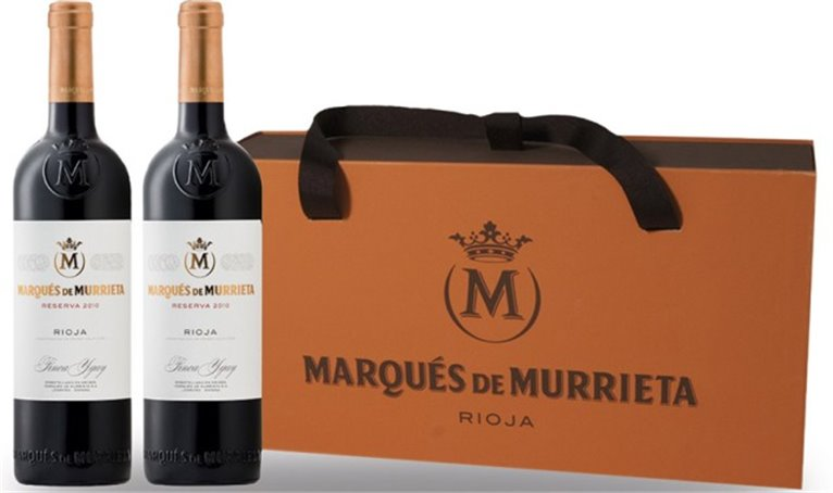 Marques de Murrieta Reserva Estuche 2 botellas, 2 ud