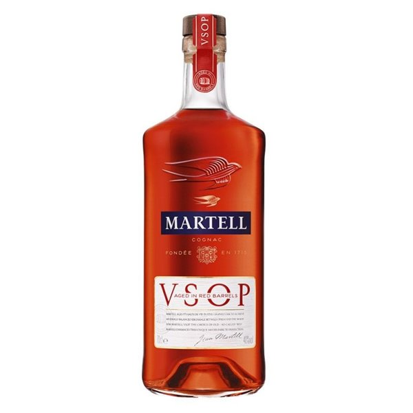MARTELL VSOP AGED IN RED BARRELS 0,70 L. 40º
