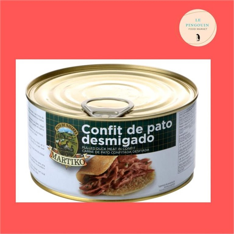Martiko Pato confitado desmigado 1200gr, 1,20 kg