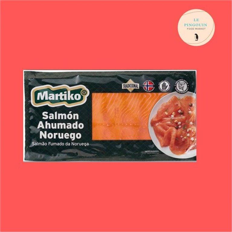Martiko Salmón ahumado noruego tradicional 250gr, 250 gr