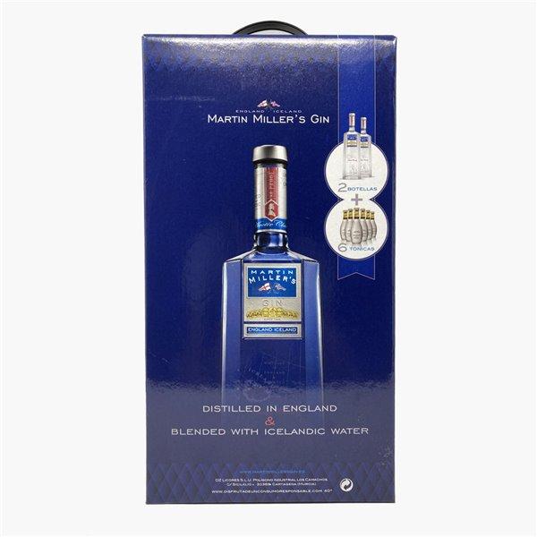 Martin Miller´s Gin Original 2 Botellas + 6 tonicas (Pack)
