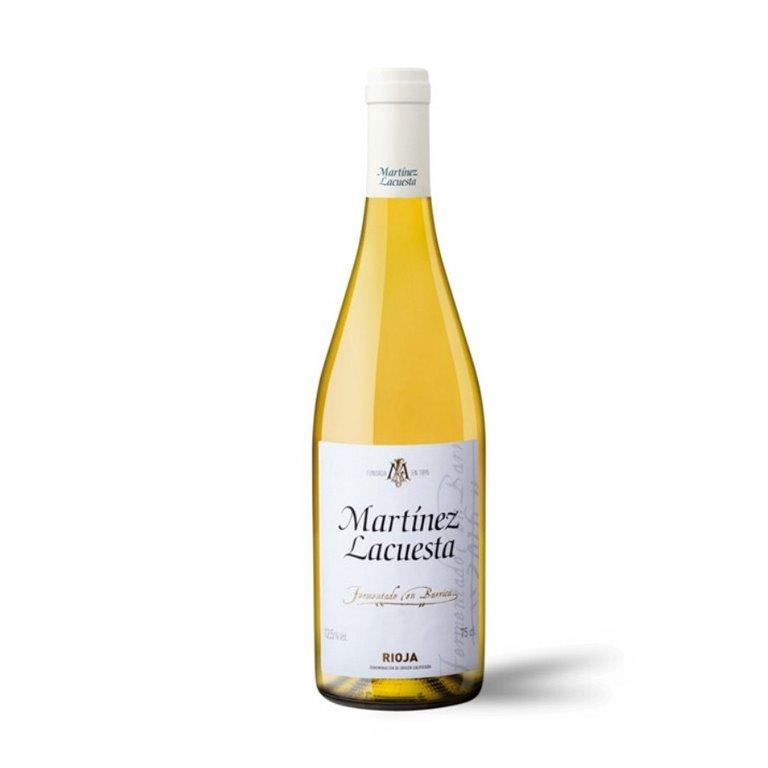 Martínez Lacuesta Vino Blanco Fermentado en Barrica 75 cl., 1 ud
