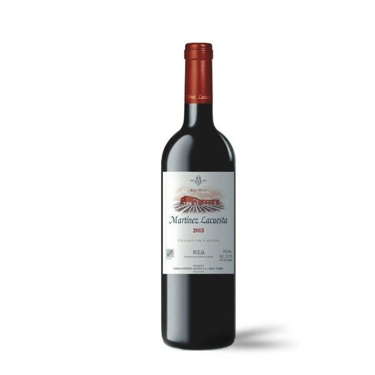 Martínez Lacuesta Vino Tinto Cosecha 75 cl.