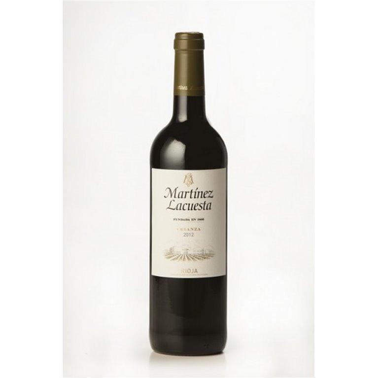 Martínez Lacuesta Vino Tinto Crianza 75 cl., 1 ud