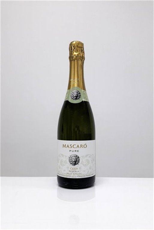 MASCARO PURE - Brut Nature, 0,75 l