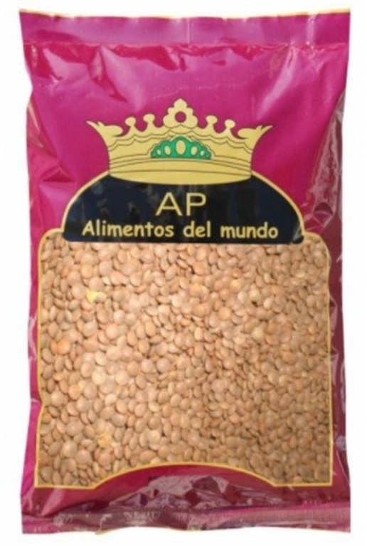 Masoor Whole (Lentejas Marrones) 1kg