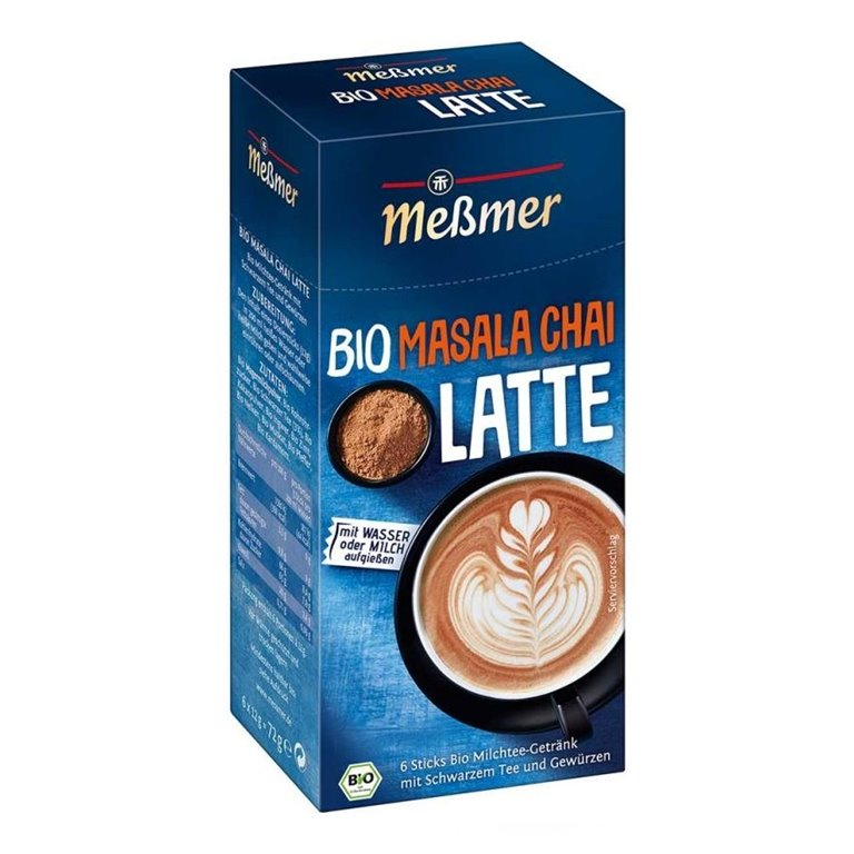 Massala Chai Latte Bio 6 Sticks