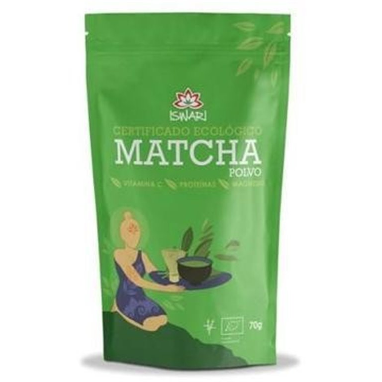 Matcha en Polvo Bio 70g, 1 ud