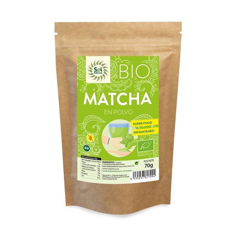 Matcha en Polvo Bio 70g