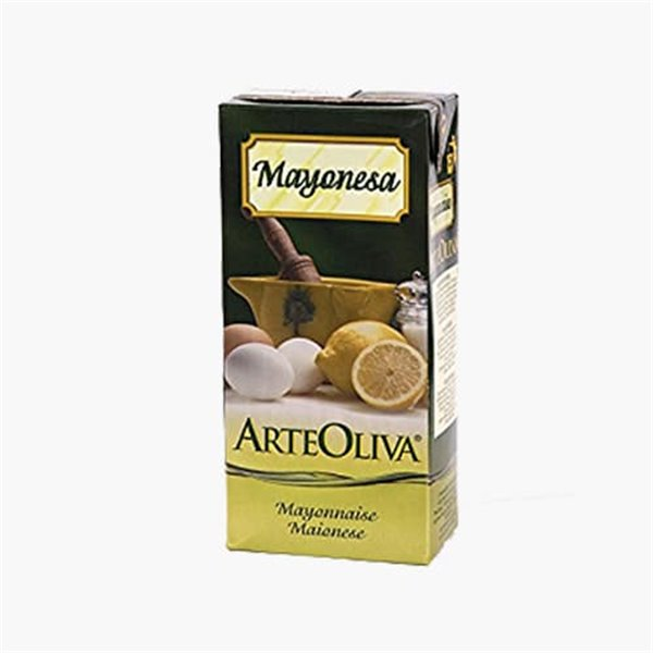 Mayonesa con Aceite de Oliva, 1L Arteoliva