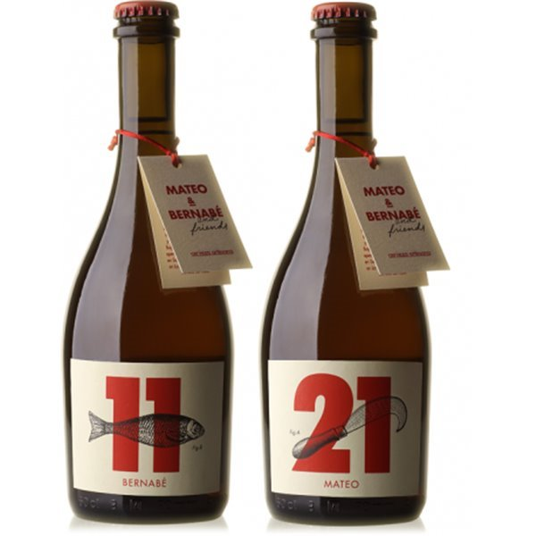 M&B Pack cervezas rubias