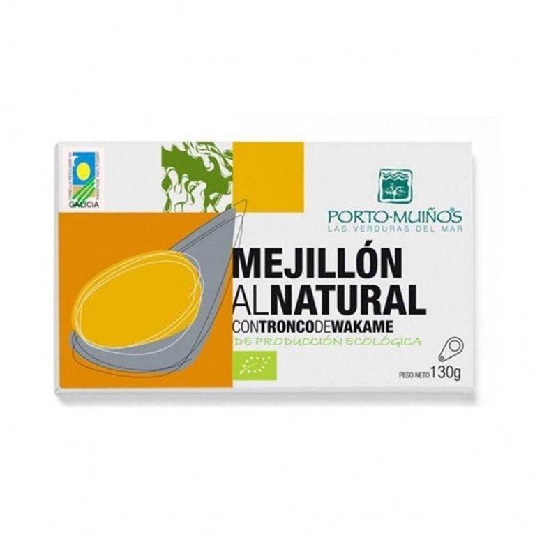 Mejillón natural tronco wakame, 90 gr