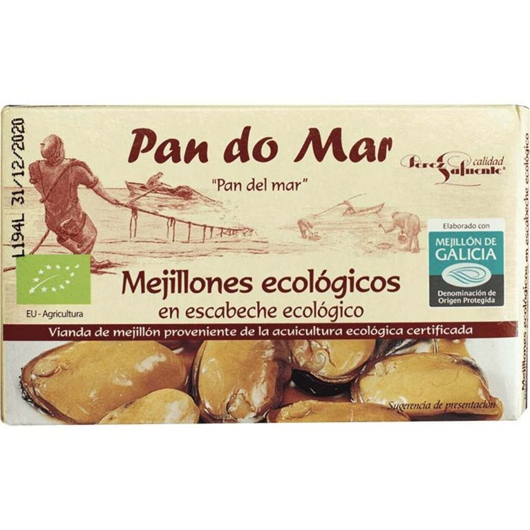 Mejillones BIO en escabeche - Pan do Mar
