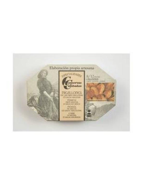 Mejillones de las Rias Gallegas en salsa gallega 8/12 Conservas Cambados