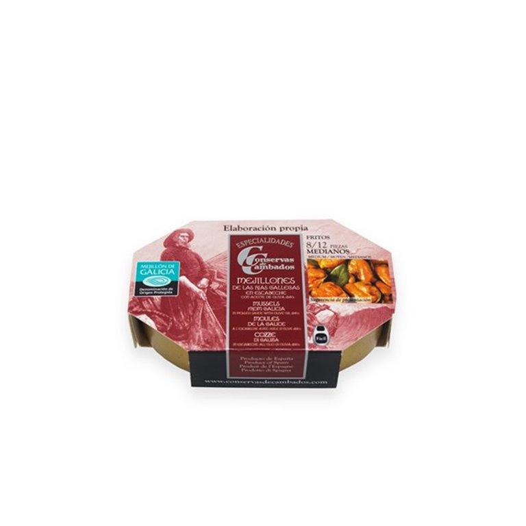 MEJILLONES DE RIA EN ESCABECH 8/12 gourmet