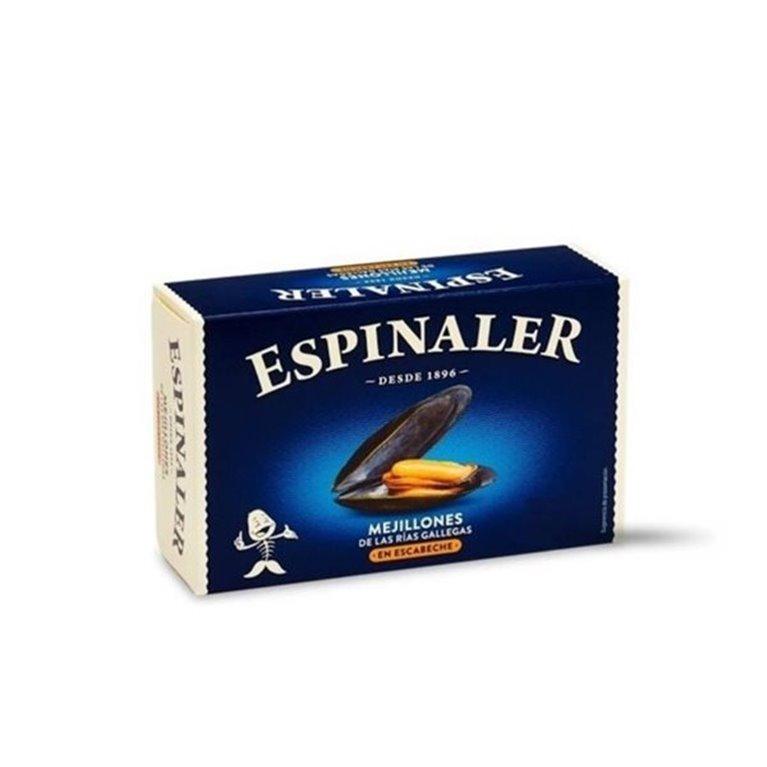 Mejillones en Escabeche de las Rías 20/30 Piezas Espinaler