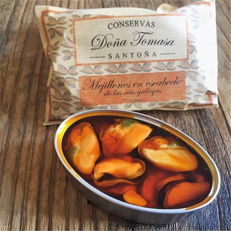 Mejillones en escabeche Doña Tomasa