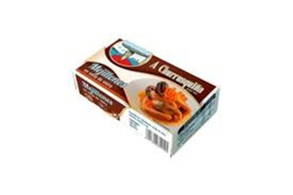 Mejillones en salsa de vieira A Churrusquiña