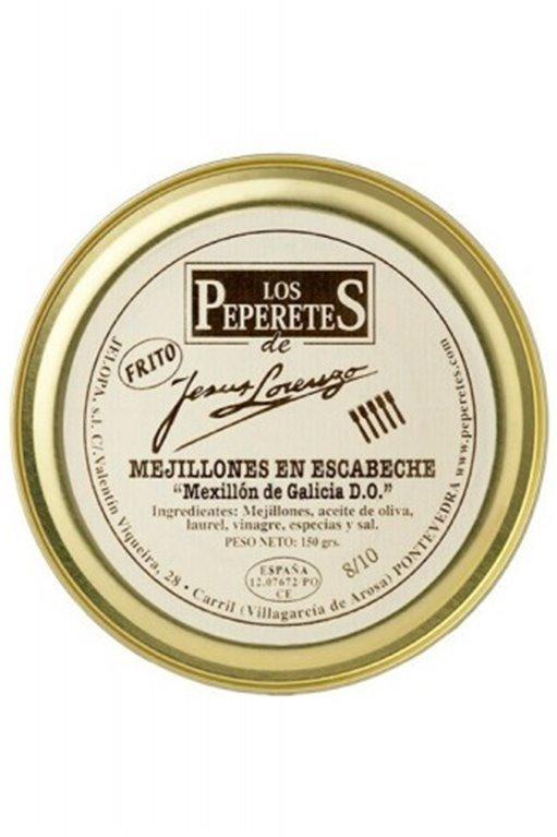 Mejillones Peperetes 10/12 120 gr