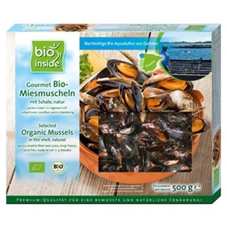 Mejillones seleccionados bio, 500 gr