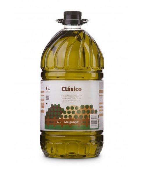 Melgarejo Clásico picual. Garrafa 5 L.