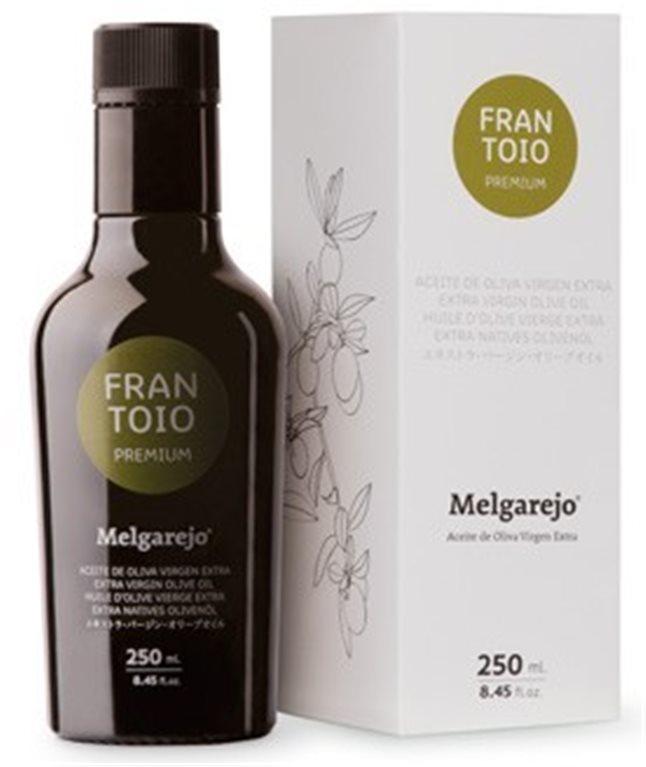 Melgarejo Premium. Aceite de oliva Frantoio 250 ML, 1 ud