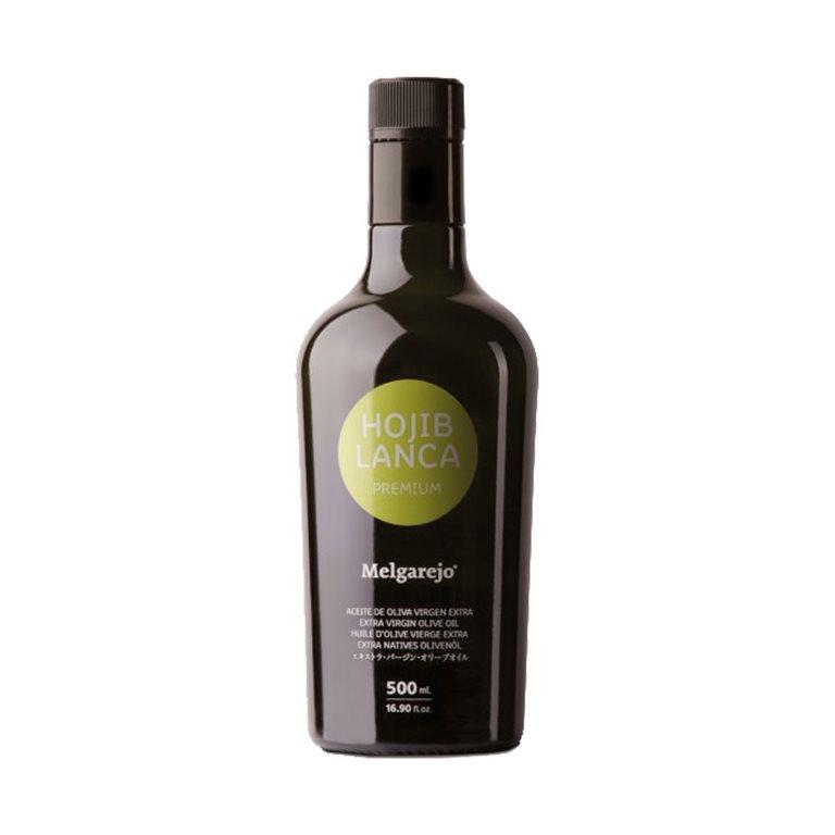 Melgarejo Premium. Aceite de oliva Hojiblanca 500ML, 1 ud