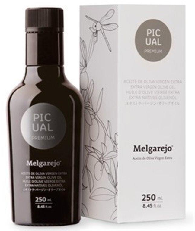 Melgarejo Premium. Aceite de oliva Picual.  250ML, 1 ud
