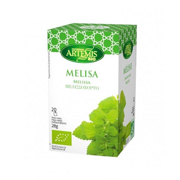 Melisa Infusión Eco Artemis 20 Filtros