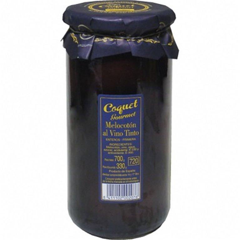 Melocotón con vino Coquet 720, 1 ud