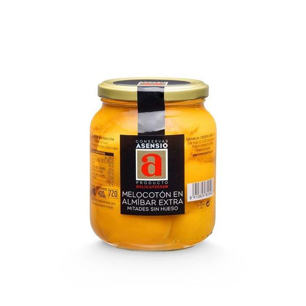 Melocotón en almibar Frasco 700 g