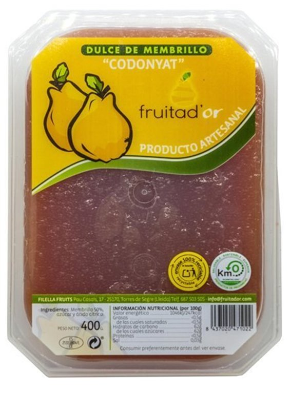 Artisan Quince Fruita D'or, box of 4 units (400gr)