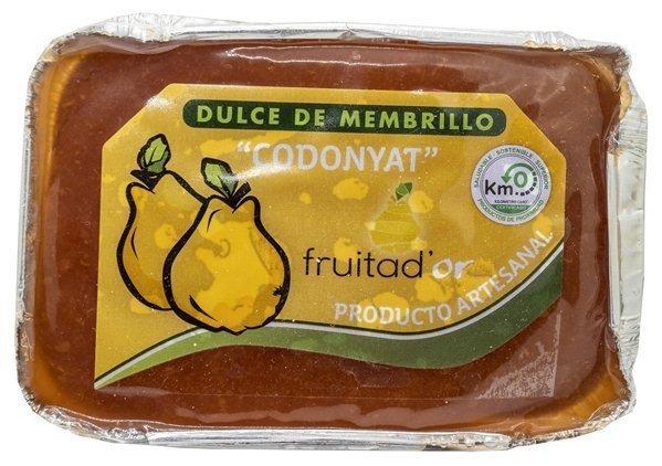 Membrillo Artesano Fruita D'or, caja de 4 unidades (500gr)